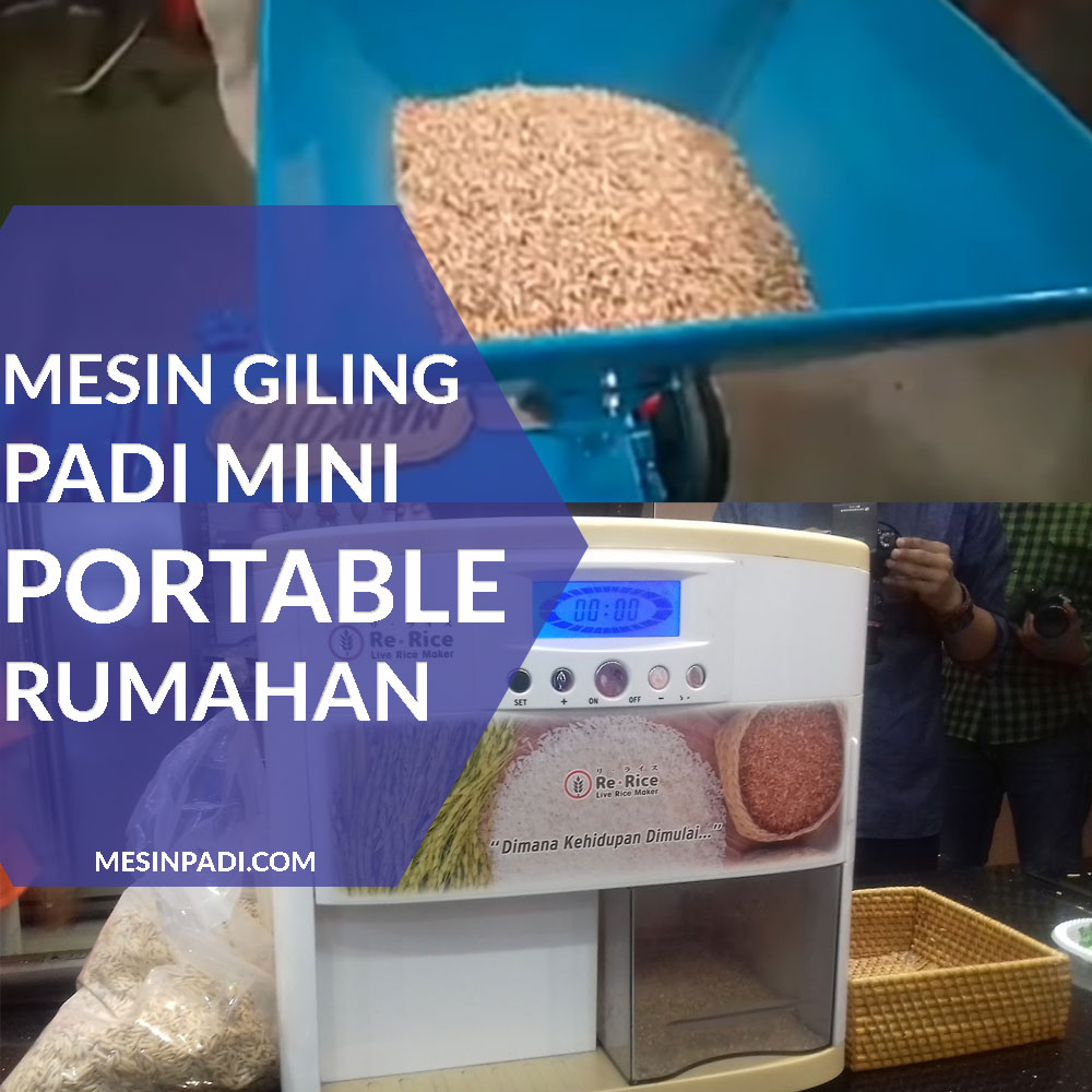 mesin giling padi mini